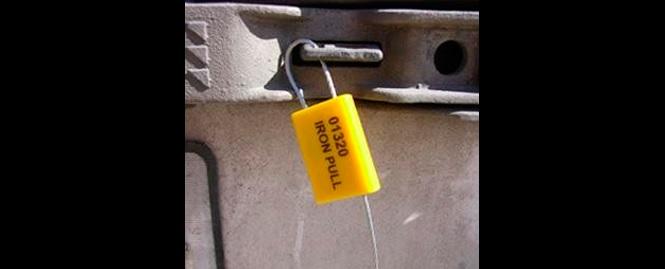 Sicherheitsplomben aus Metall